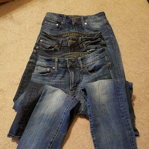 Mens jeans,  3 pairs